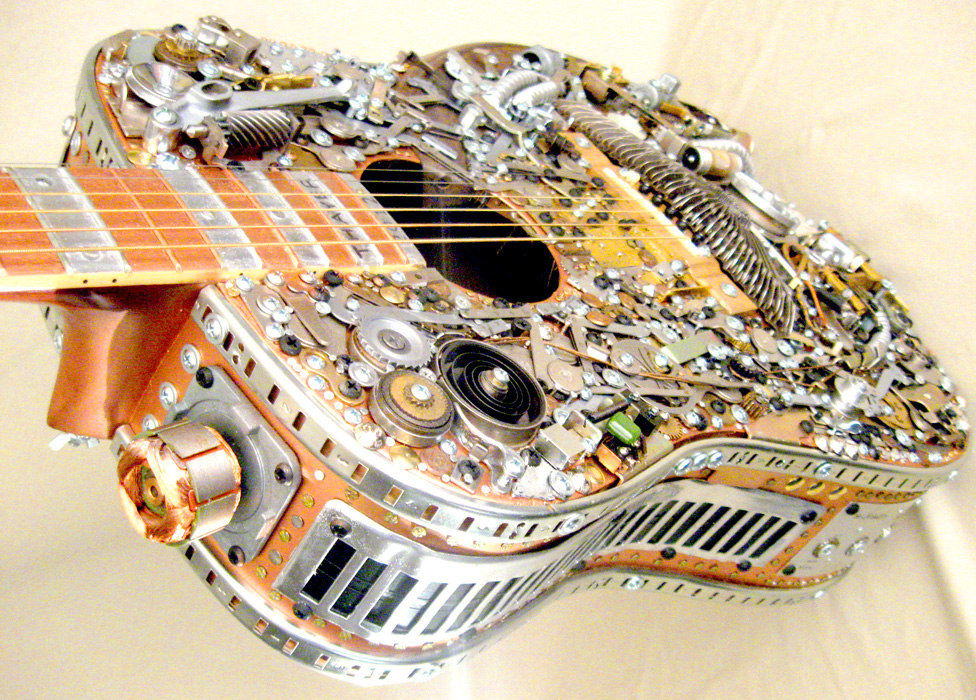 Steampunk Acoustic Guitar Thayer DeMay