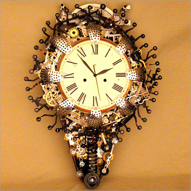 Steampunk Clock Pic 1