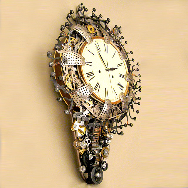Steampunk Clock Pic 3